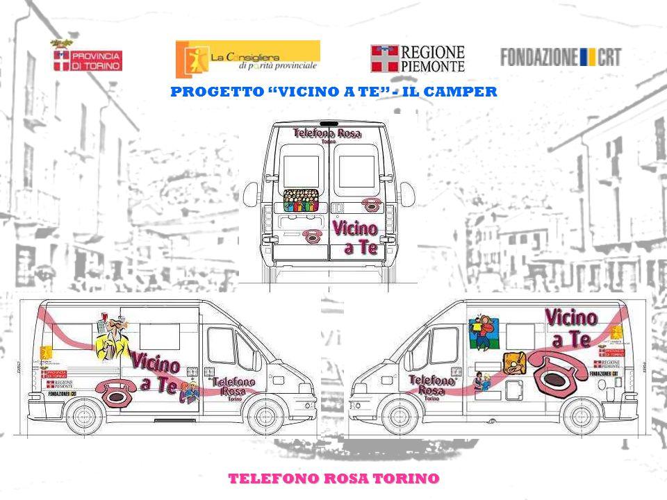TELEFONO ROSA TORINO PROGETTO VICINO A TE - VESTIARIO DI SERVIZIO E STEMMI DI RICONOSCIMENTO