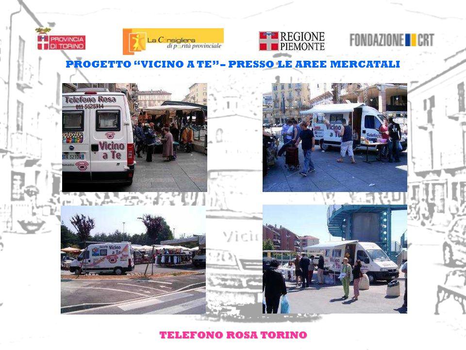 TELEFONO ROSA TORINO PROGETTO VICINO A TE – PRESSO I CENTRI COMMERCIALI