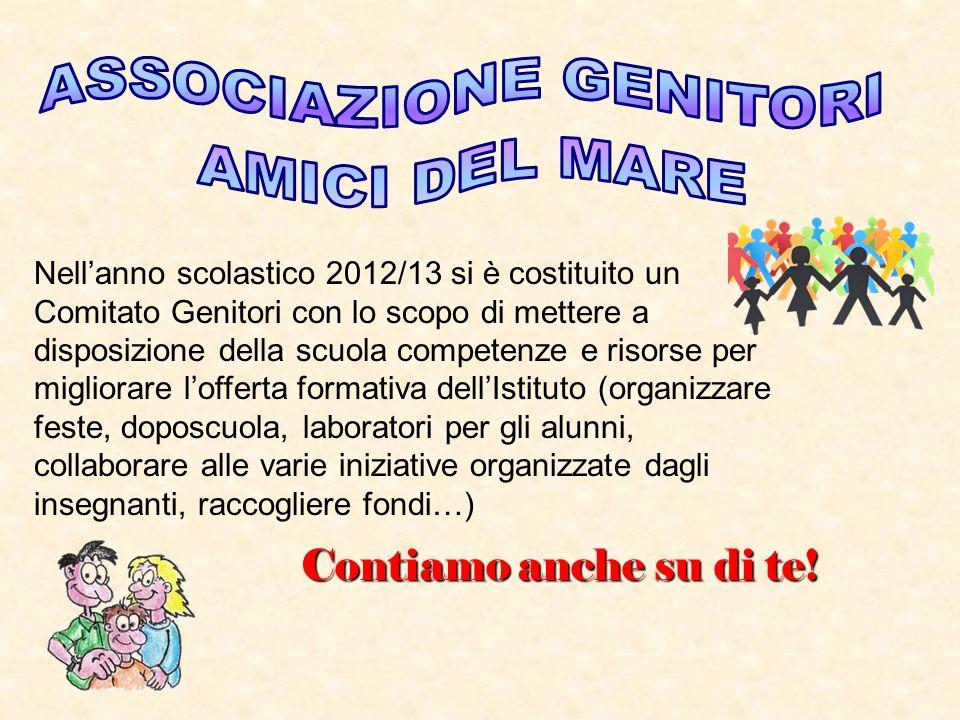 Nellanno scolastico 2012/13 si è costituito un Comitato Genitori con lo scopo di mettere a disposizione della scuola competenze e risorse per migliora