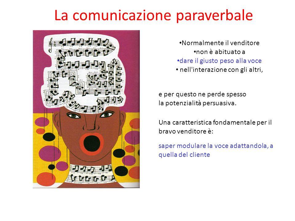 La comunicazione paraverbale Una voce dotata di una bella impostazione vocale, ben modulata, calda, avvolgente e