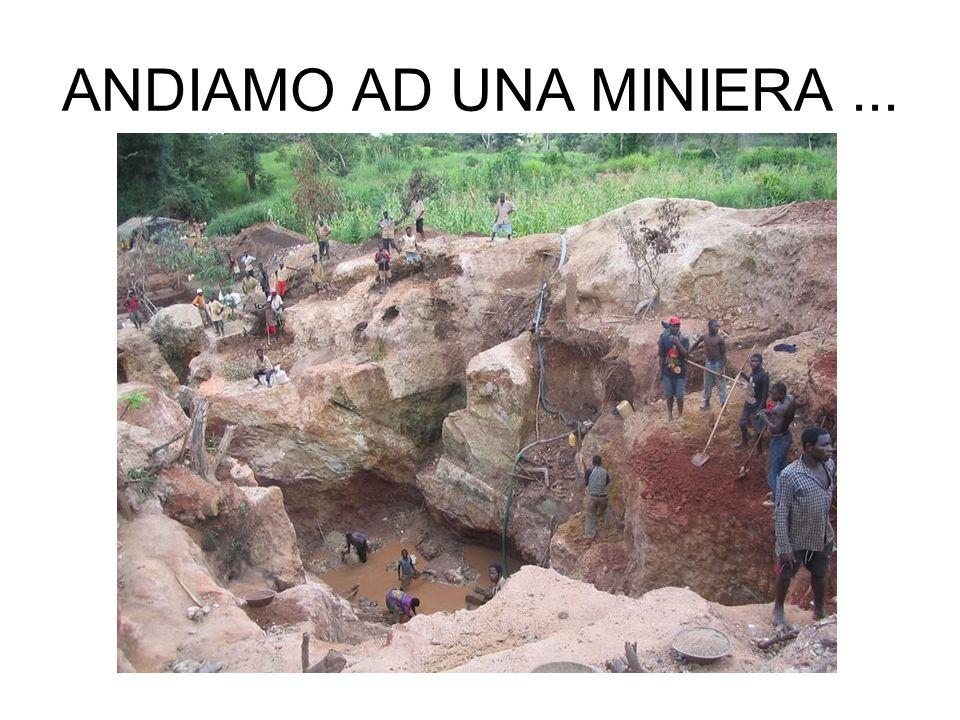 ANDIAMO AD UNA MINIERA...