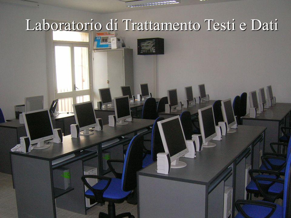 Laboratorio di Trattamento Testi e Dati I T C (Via Sbarre)