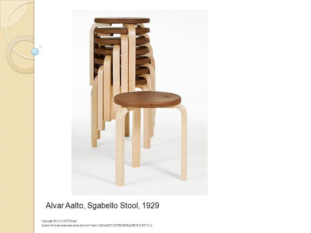 Alvar Aalto, Sgabello Stool, 1929 Copyright © 2012 CLITT Roma Questo file è una estensione online del corso Vedovi, IMMAGINI CONTEMPORANEE © CLITT 201