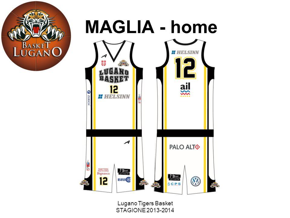 Lugano Tigers Basket STAGIONE 2013-2014 MAGLIA - home