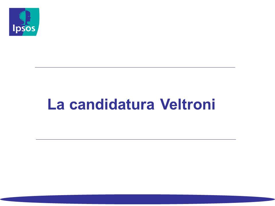 La candidatura Veltroni