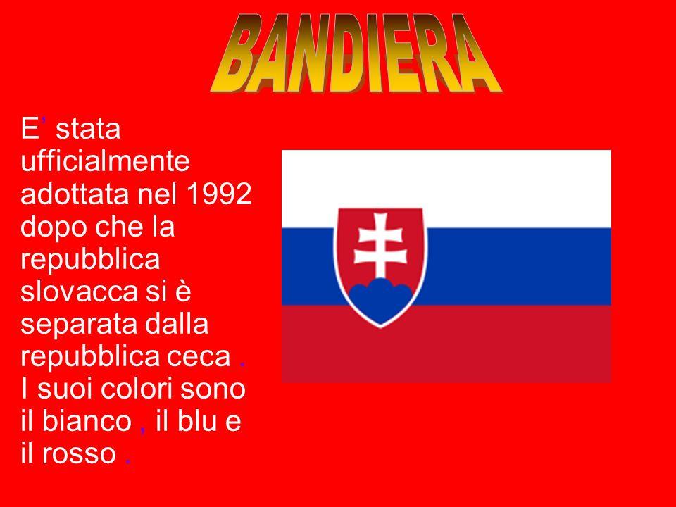 ORIGINE DEL NOME = La Slovacchia prese il proprio nome dal popolo degli slovacchi che si sono insediati tra i Carpazi e il Danubio,intorno al V secolo
