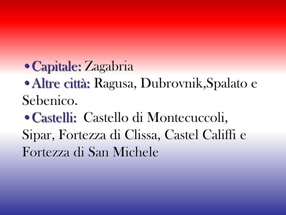 Superficie: 56 542 km² Superficie: 56 542 km² Abitanti: 4 290 612 abitanti Densità: 83 ab./km² Lingue: Croato, Italiano coufficiale nella regione Istr