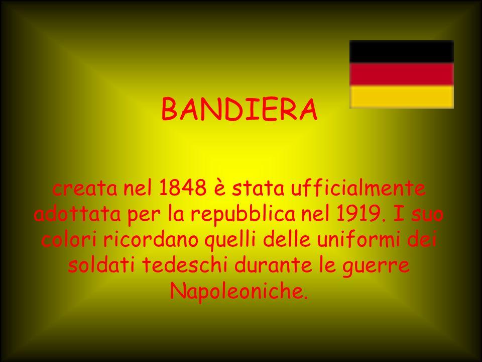 ORIGINE DEL NOME E la popolazione dei germani che ha dato il nome alla nazione
