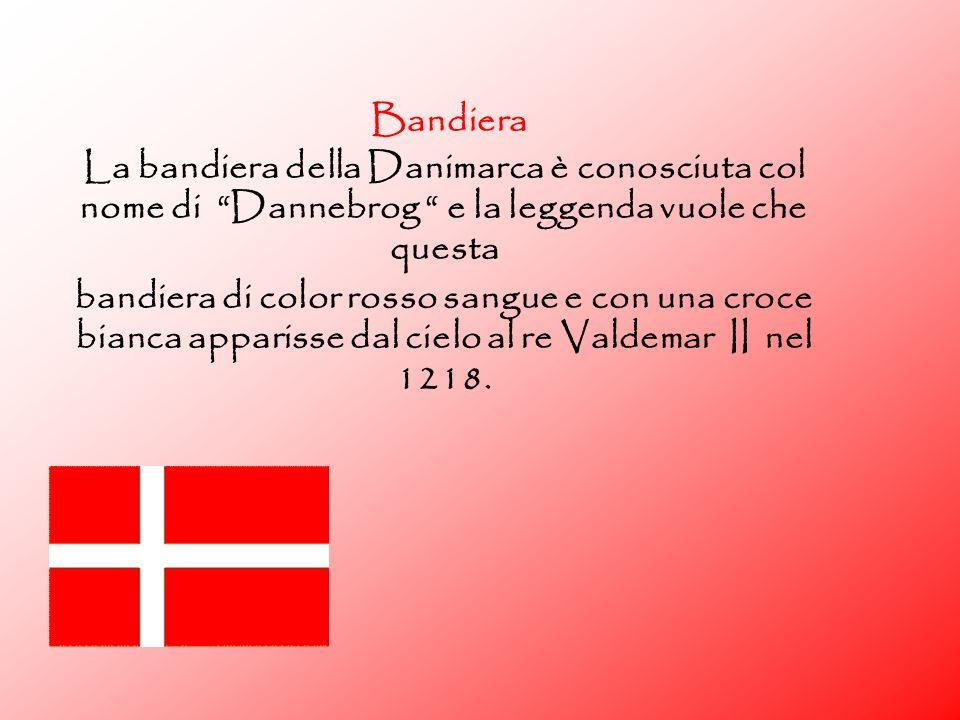origine del nome il termine Danimarca ha origine da Mark (territorio,regno) E Daner antico nome dei danesi.