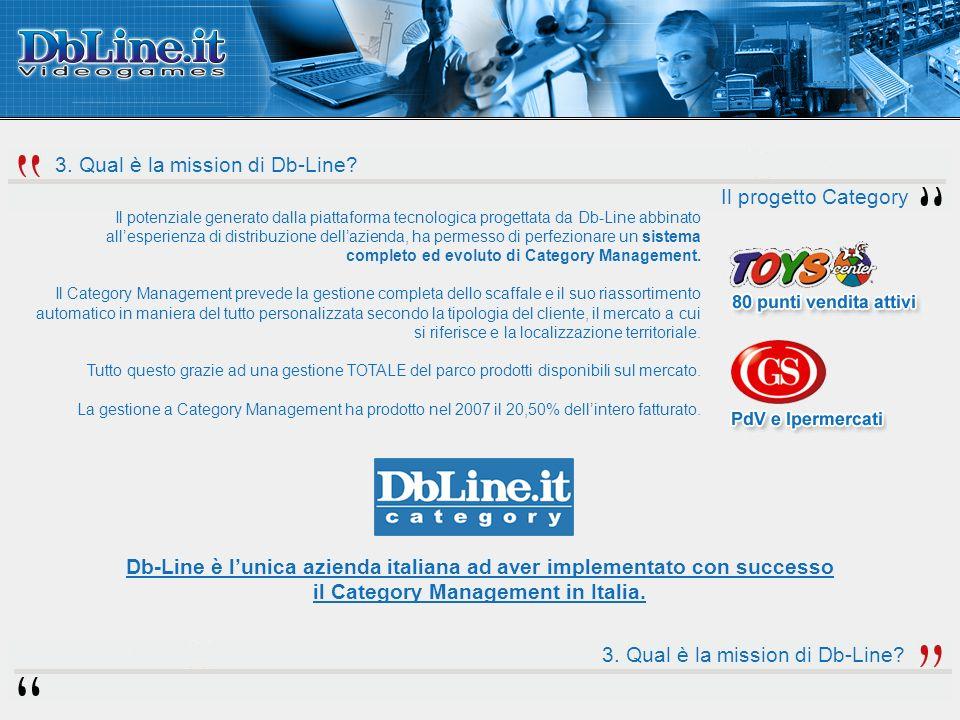 3. Qual è la mission di Db-Line.