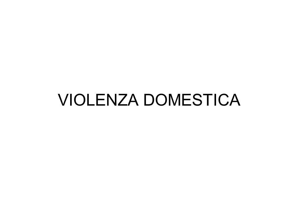 Organizzazione Mondiale della Sanità il 70% delle donne vittime di omicidi uccise dai loro partners maschili.