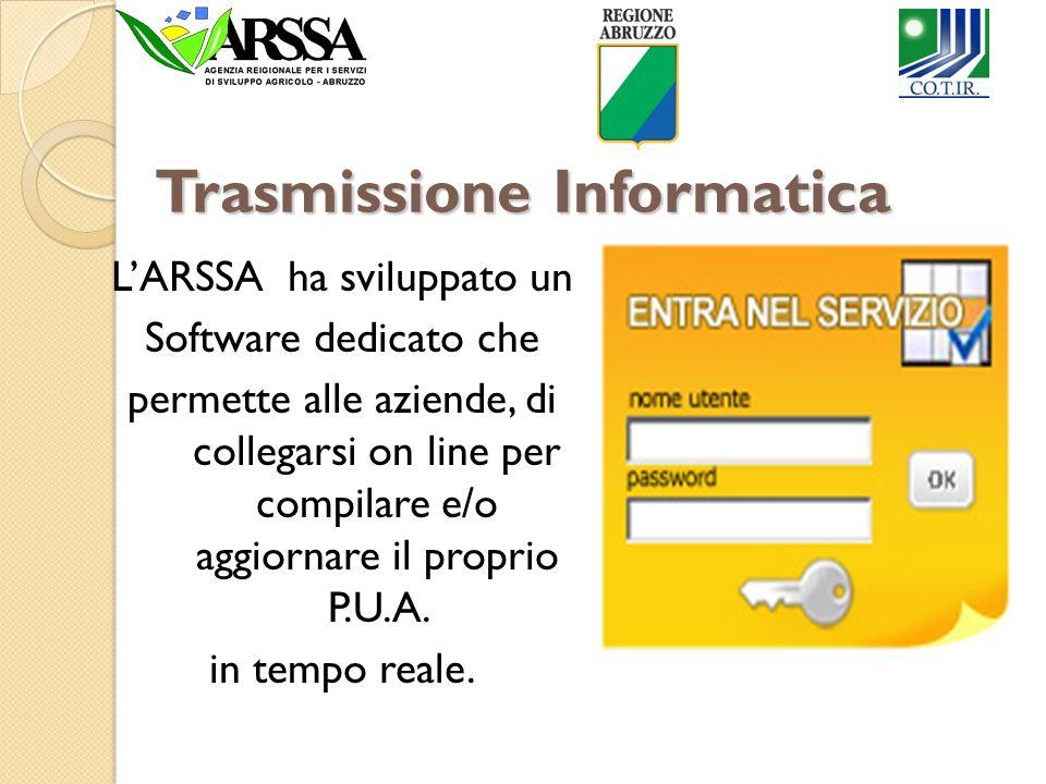 Trasmissione Informatica LARSSA ha sviluppato un Software dedicato che permette alle aziende, di collegarsi on line per compilare e/o aggiornare il pr