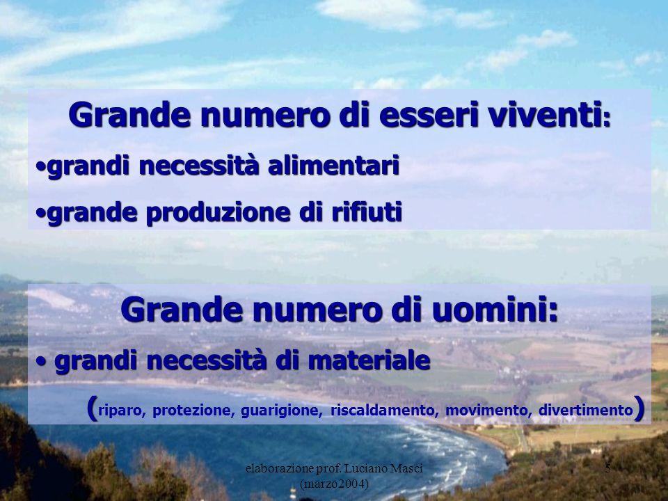 elaborazione prof.Luciano Masci (marzo2004) 6 Il maggior problema: legoismo.