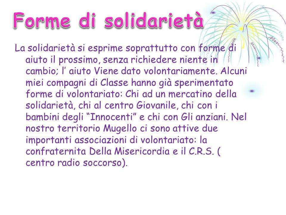 1) Da quanto tempo fa volontariato.La prof Guidarelli fa volontariato da circa 25 anni.
