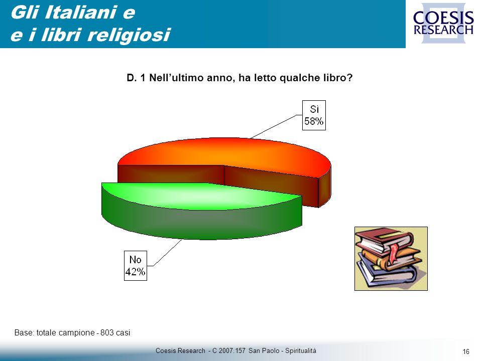 16 Coesis Research - C 2007.157 San Paolo - Spiritualità D.