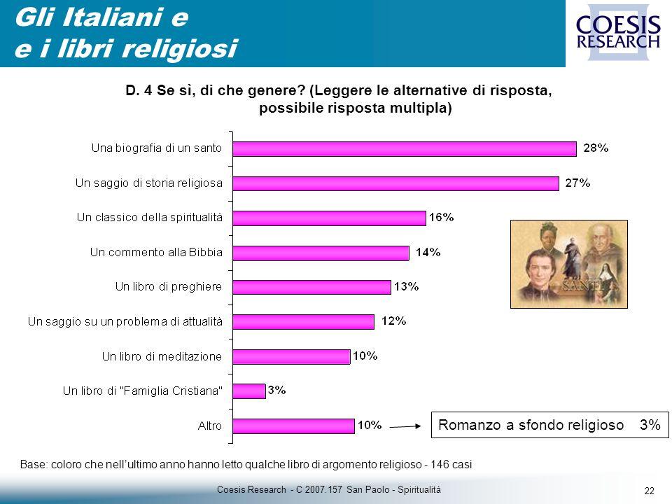 22 Coesis Research - C 2007.157 San Paolo - Spiritualità D.