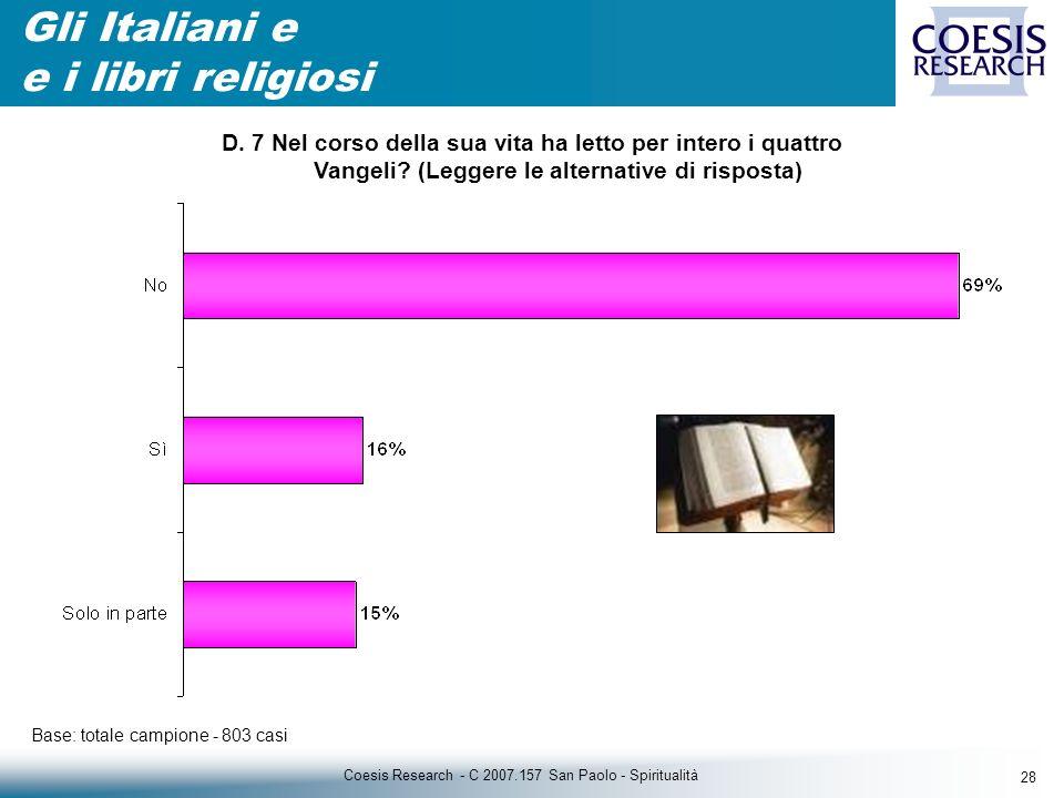 28 Coesis Research - C 2007.157 San Paolo - Spiritualità D.