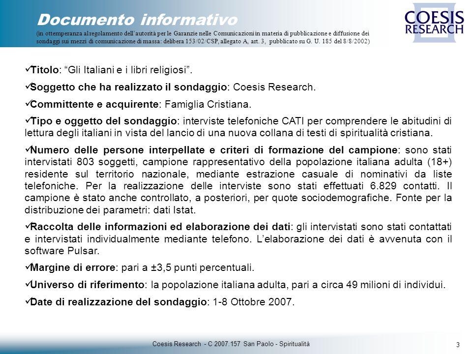 24 Coesis Research - C 2007.157 San Paolo - Spiritualità D.
