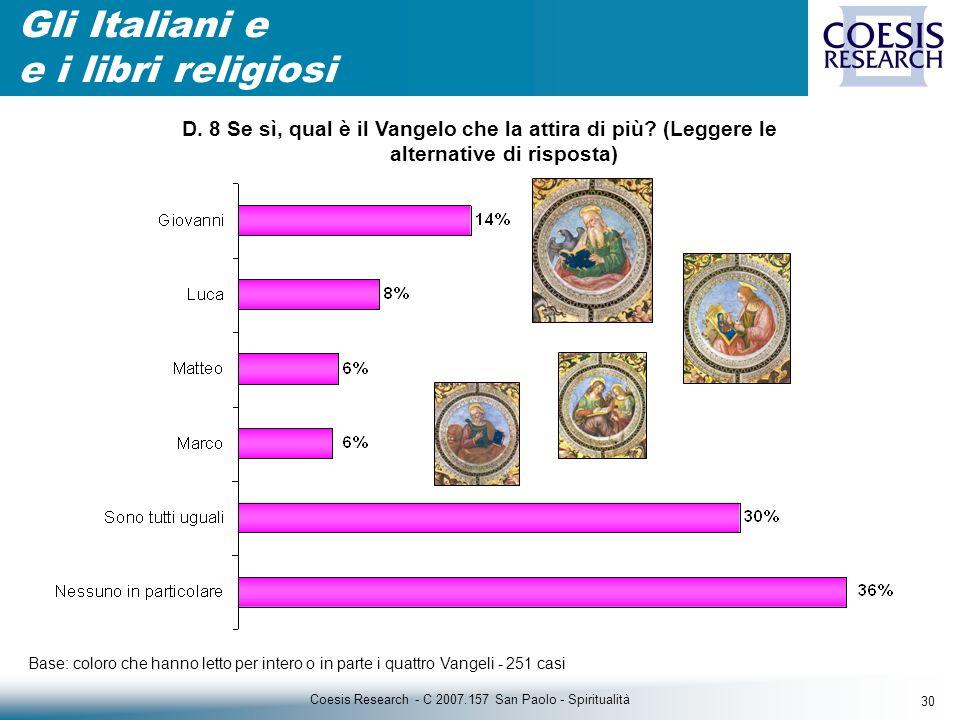 30 Coesis Research - C 2007.157 San Paolo - Spiritualità D.