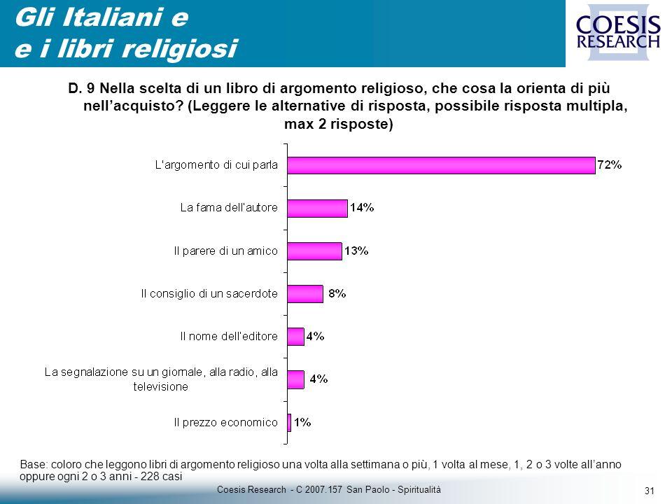 31 Coesis Research - C 2007.157 San Paolo - Spiritualità D.