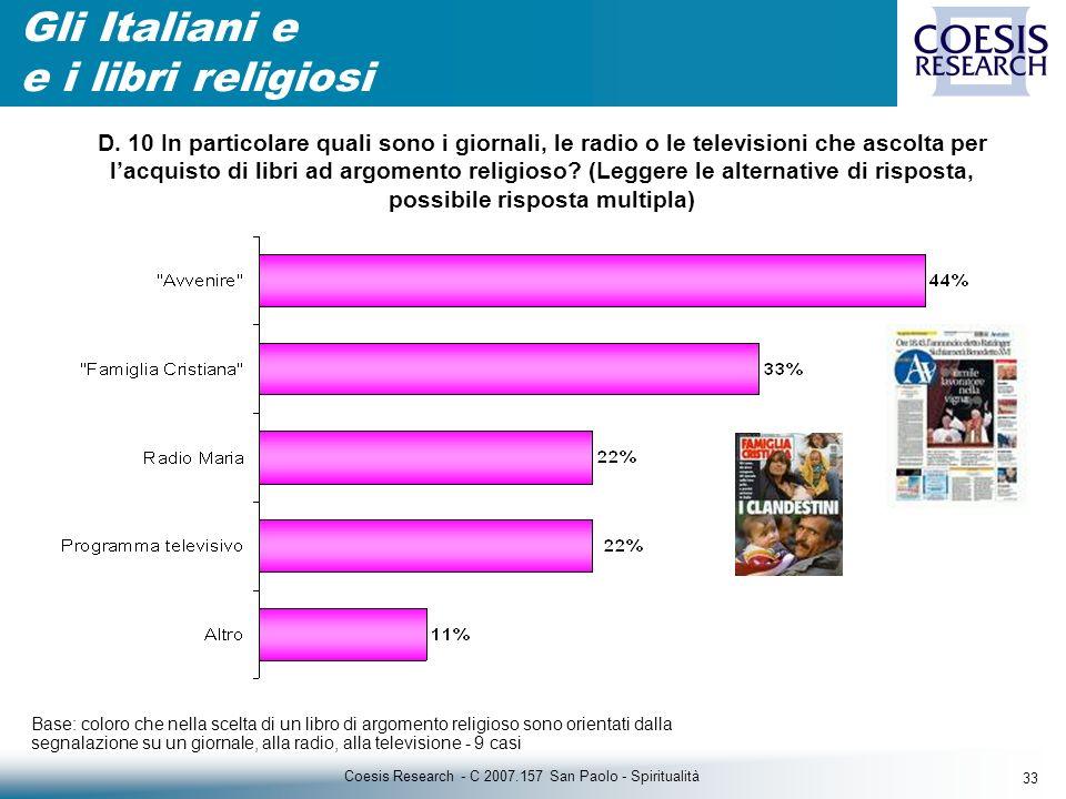 33 Coesis Research - C 2007.157 San Paolo - Spiritualità D.