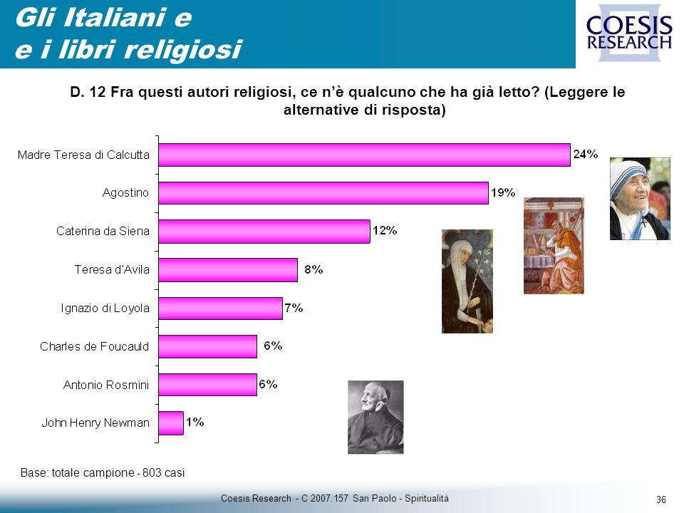 36 Coesis Research - C 2007.157 San Paolo - Spiritualità D.