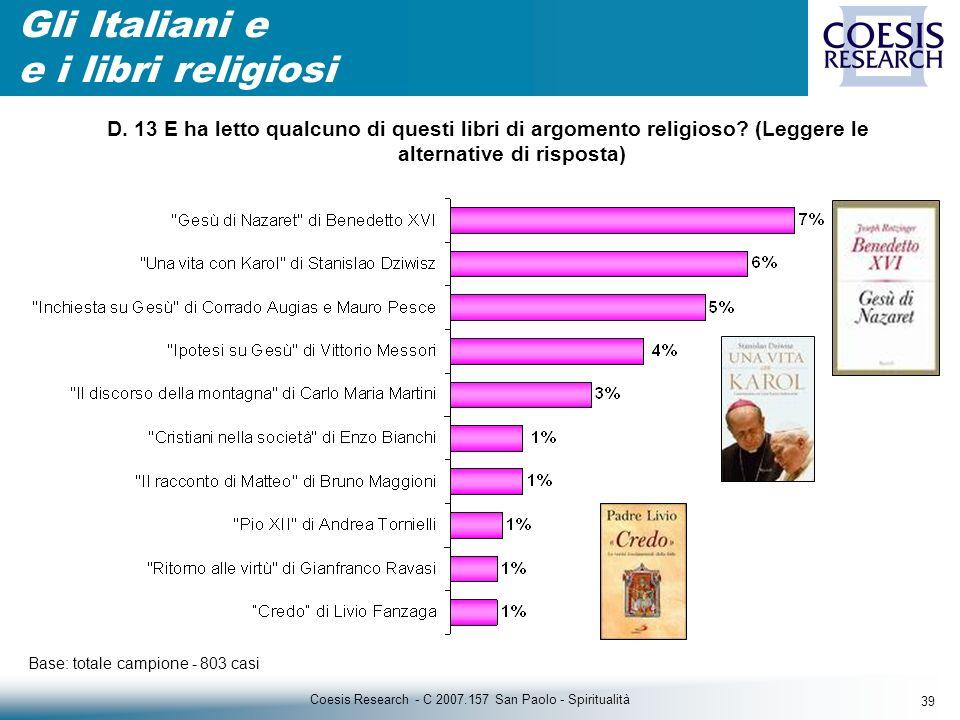 39 Coesis Research - C 2007.157 San Paolo - Spiritualità D.