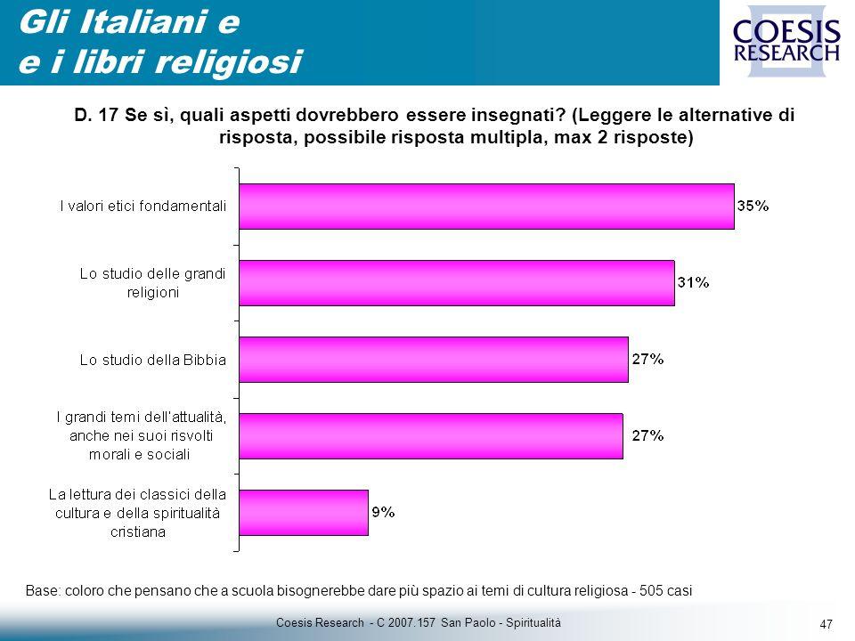 47 Coesis Research - C 2007.157 San Paolo - Spiritualità D.