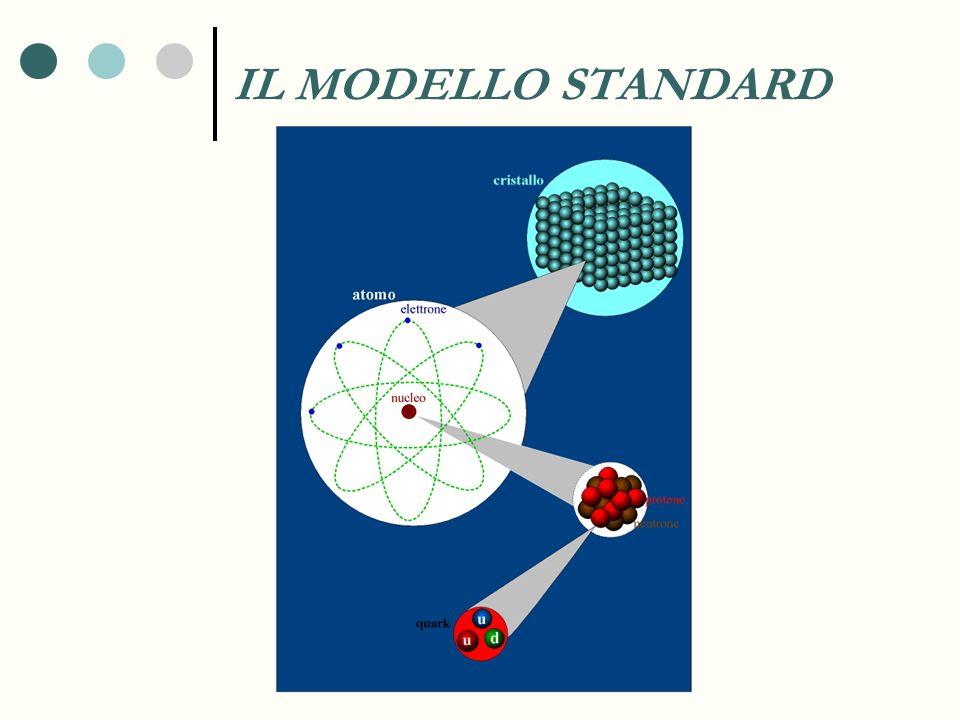 Le idee chiave Esistono delle particelle che sono i costituenti fondamentali delle materia I fisici hanno elaborato una teoria, chiamata Modello Standard, che vuole descrivere sia la materia che le forze dell Universo.