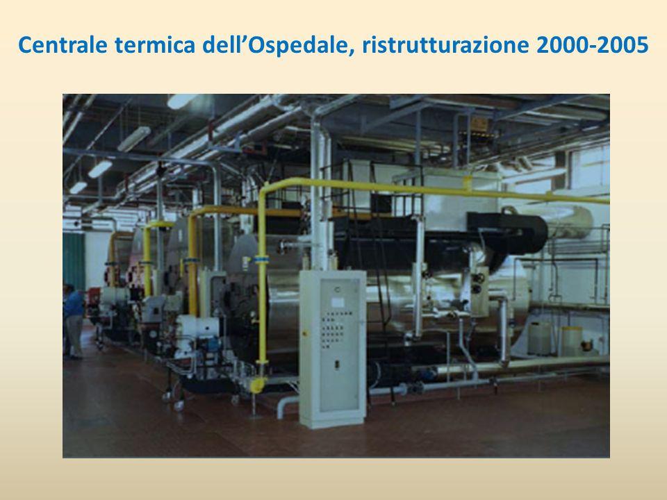 Centrale termica dellOspedale, ristrutturazione 2000-2005