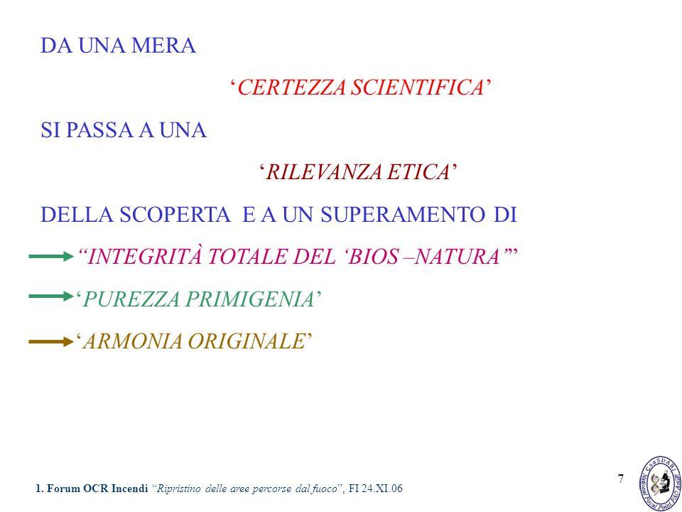 18 TALE DEFINIZIONE CONSIDERA IL SISTEMA BIOLOGICO IN CHIAVE SISTEMICA 1.