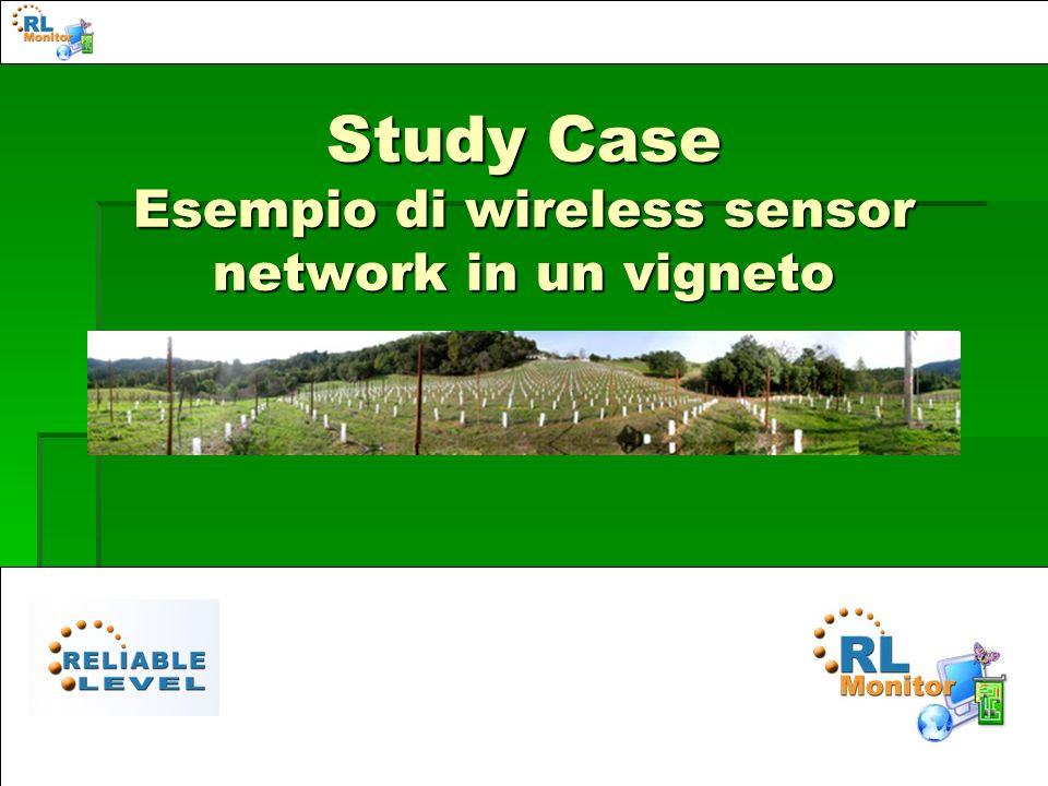 Study Case Esempio di wireless sensor network in un vigneto