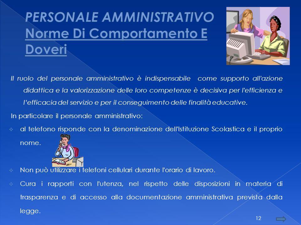 Personale Collaboratori Amministrativo Scolastici 11
