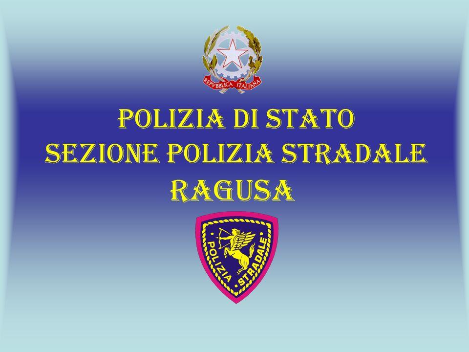 SEZIONE POLIZIA STRADALE RAGUSA INFRAZIONI AL CODICE DELLA STRADA RILEVATE NEL 2009 58% 26% 6% 8% 3%