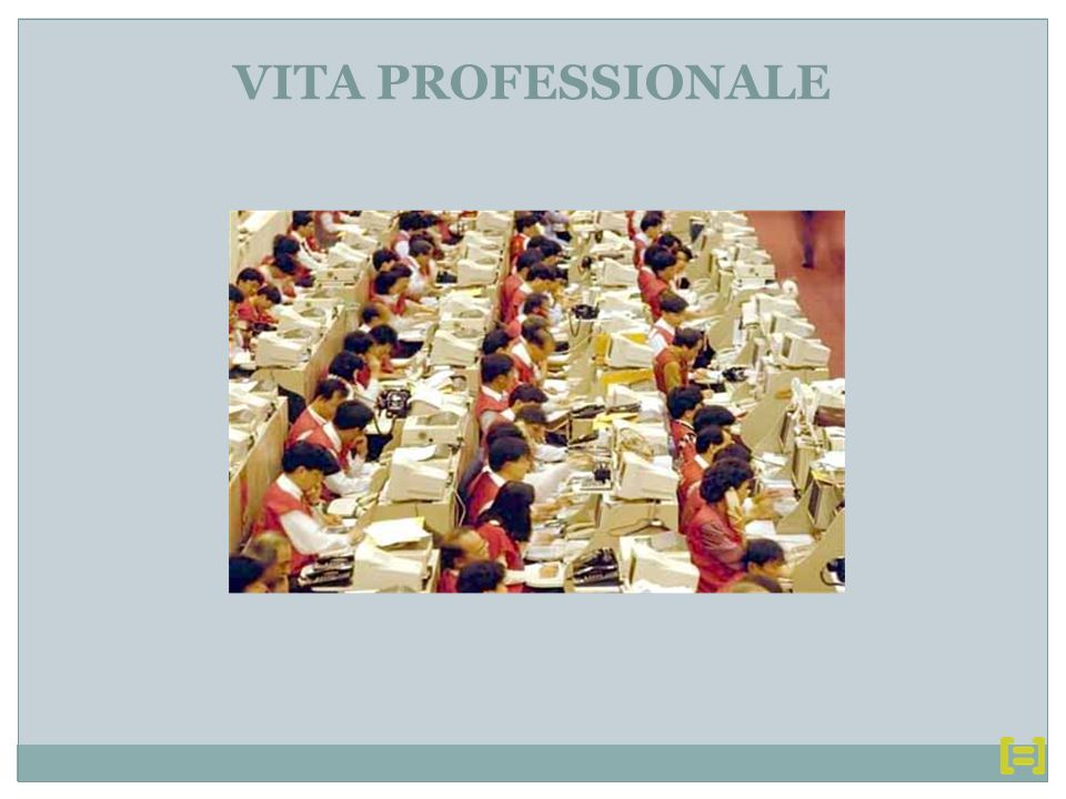 VITA PROFESSIONALE