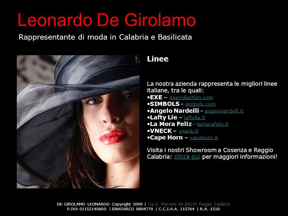 DE GIROLAMO LEONARDO Copyright 2009 | Via G.