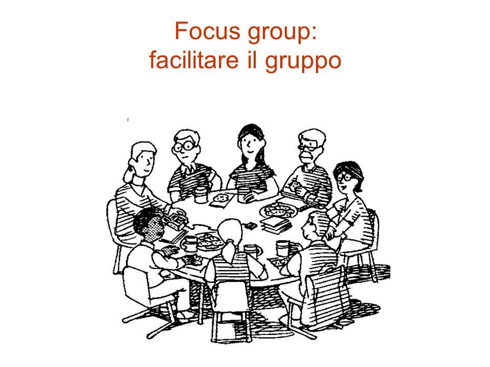 Focus group: facilitare il gruppo