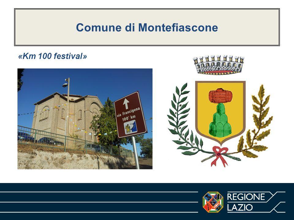 Comune di Montefiascone «Km 100 festival»