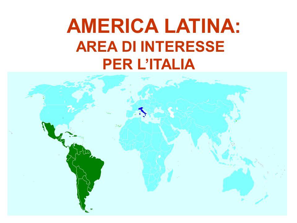AMERICA LATINA: AREA DI INTERESSE PER LITALIA 2