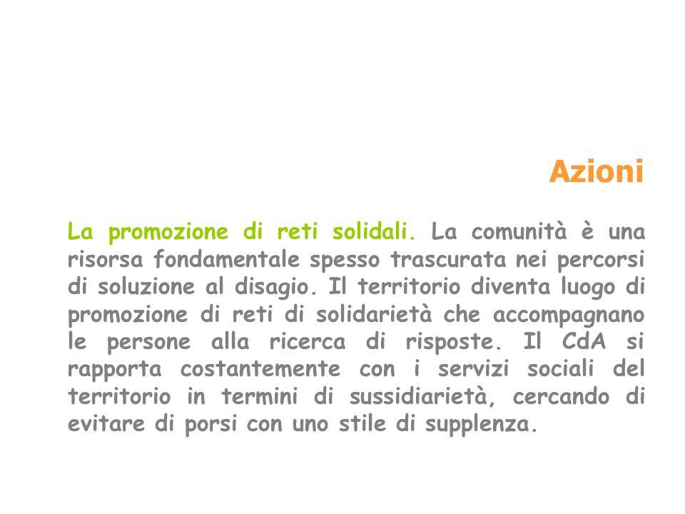 Lavoro di comunione Il CdA Intervicariale Lincontro assolve fino in fondo il suo compito se coinvolge tutti, se riesce a coinvolgere tutto il territorio.