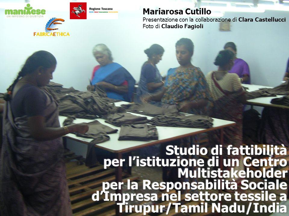 Mariarosa Cutillo Presentazione con la collaborazione di Clara Castellucci Foto di Claudio Fagioli