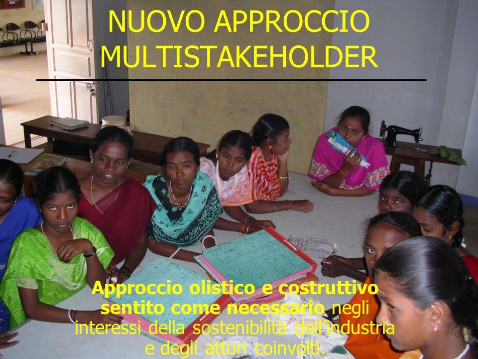 NUOVO APPROCCIO MULTISTAKEHOLDER Approccio olistico e costruttivo sentito come necessario negli interessi della sostenibilità dellindustria e degli at