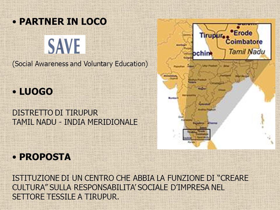 La presenza di aziende italiane nella filiera del tessile a Tirupur _________________________________________________________ La presenza delle aziende italiane a Tirupur è rilevante.
