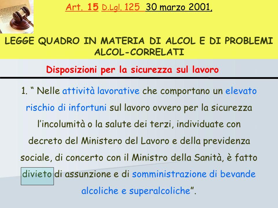 Art. 15 D.Lgl.