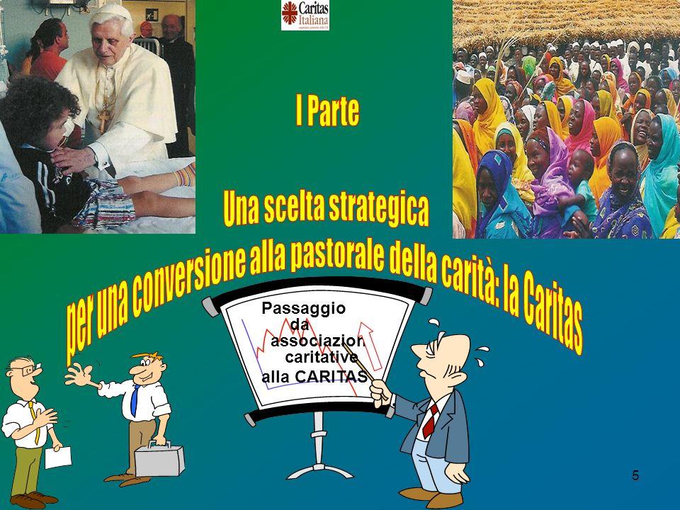 5 Passaggio da associazioni caritative alla CARITAS