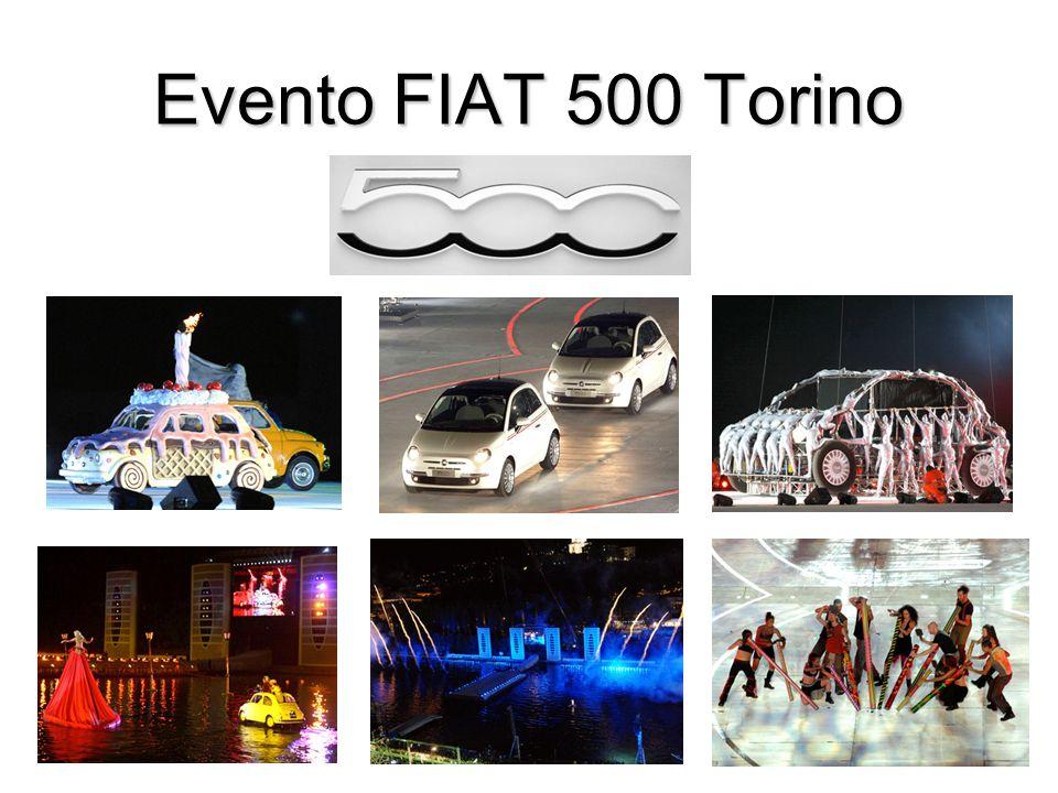 Evento FIAT 500 Torino
