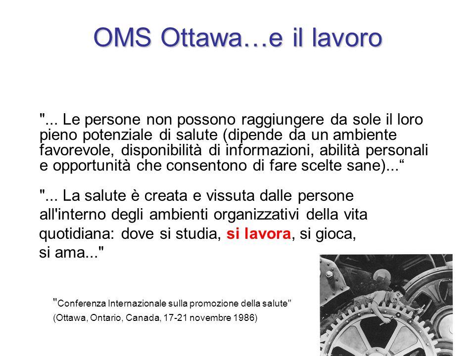OMS Ottawa…e il lavoro