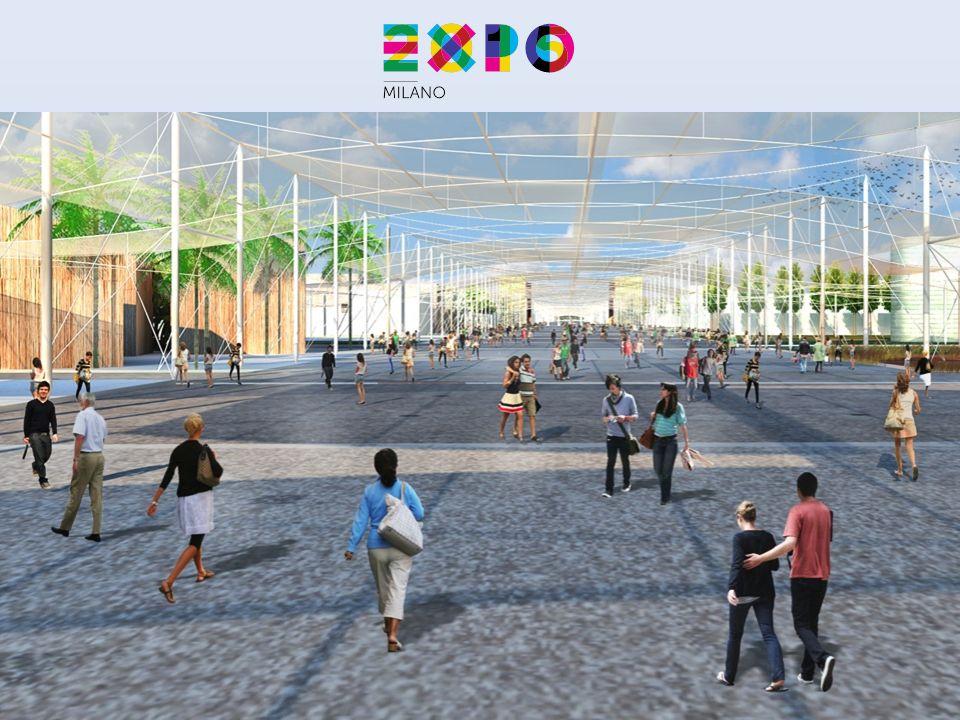 La probabile collocazione del padiglione Pavillon del Rotary