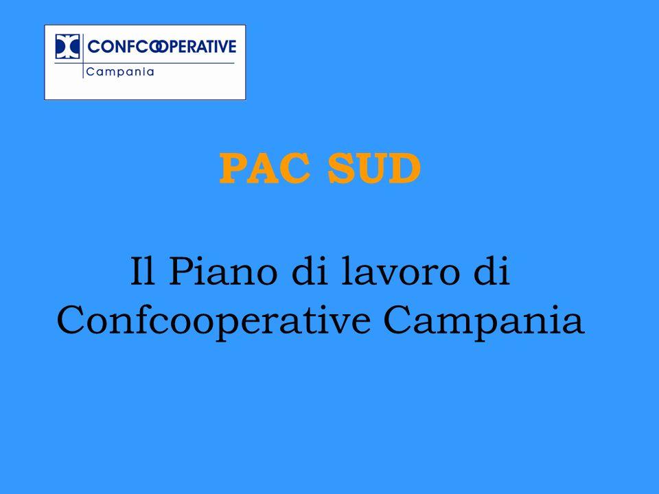 PAC SUD Il Piano di lavoro di Confcooperative Campania