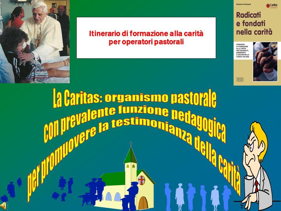 Itinerario di formazione alla carità per operatori pastorali